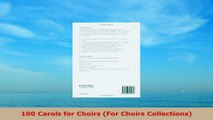 READ  100 Carols for Choirs For Choirs Collections