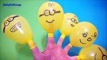 Colores Húmedo Globos de Compilación   9 Minutos a Aprender los colores Globo   TOP Dedo de la Familia de los Niños
