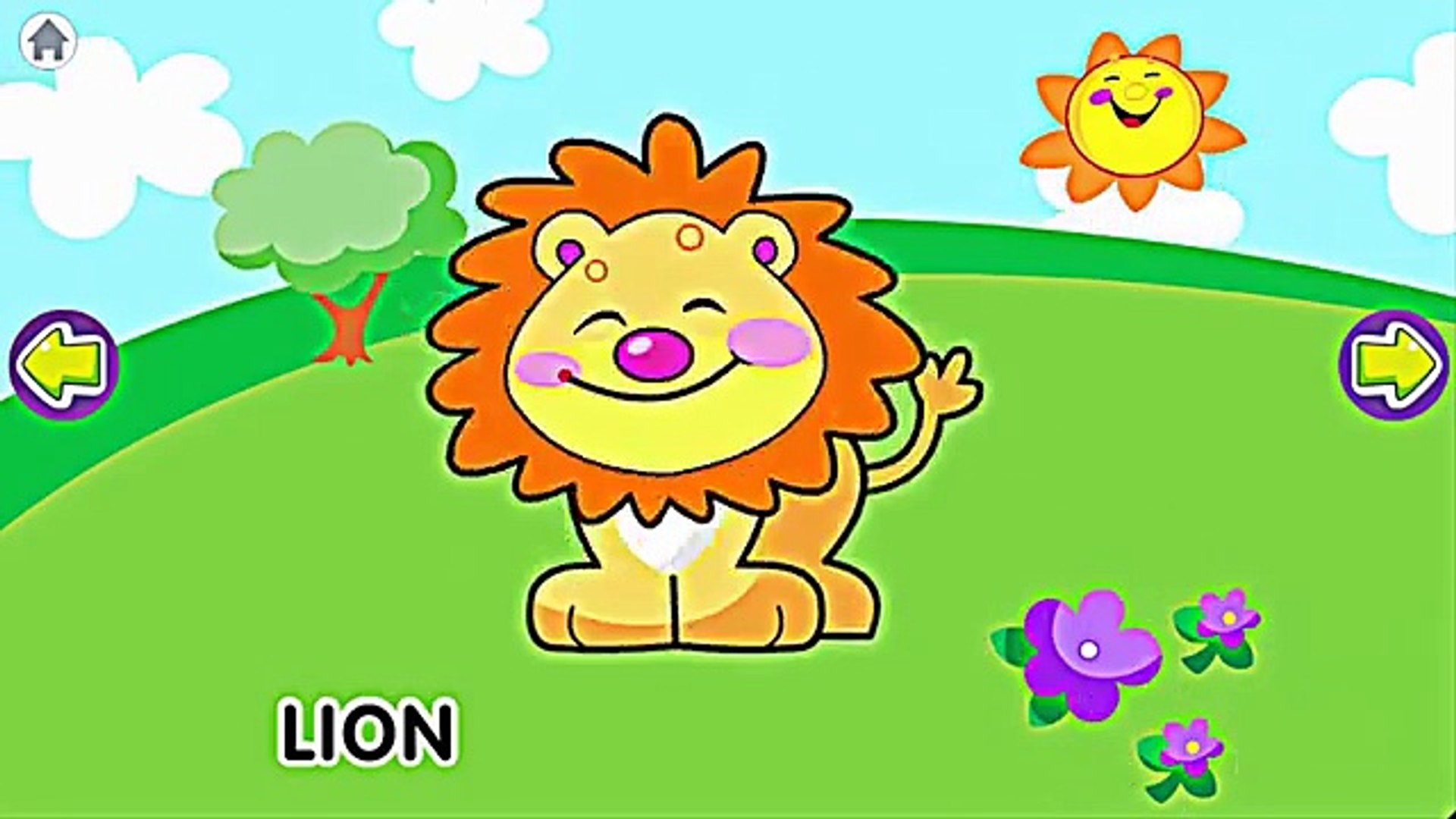 Learning Animal Sounds with Papumba | Kids Games App Education