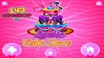 Barbie Cake Decoration Games Barbie Cake Decorations Game Online