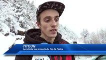 Hautes-Alpes : léger accident sur la route du Col de Festre dans le Dévoluy