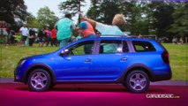 Dacia Logan MCV Stepway : break de look - Salon de Genève 2017