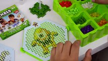 QIXELS!! DIY ремесло монстров-инопланетян Дракона игрушки персонажи детские игрушки Обзор | игрушки и меня .