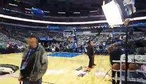 Rare on court video American Airlines Center Dallas Stars.