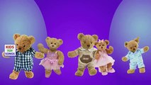 Teddy Bear Crying Crashed Truck Finger Family Nursery Rhymes - Daddy Finger Song