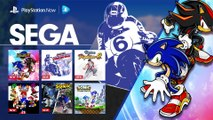 Sega & Sonic Month on PlayStation Now  PS4