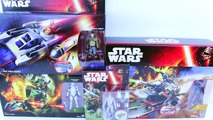 Star Wars Toys Review Luke Skywalker and Jarrus Rebels Y-Win Scout Bomber - playdoh icecre