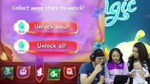 Lets CUT THE ROPE w/ MAGIC and JUMP w/ our EYES! Shawns First Gameplay (FGTEEV Parents &