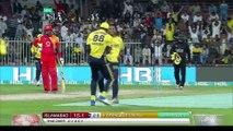 PSL 2017 Match 12- Islamabad United vs Peshawar Zalmi - Hasan Ali Bowling