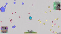 Diep.io - New Triple Twin & Overlord Dominating   Diepio Epic Battle