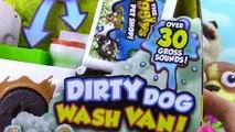 GROSS PETS & PUPPIES!!!! The Ugglys Pet Shop Dirty Dogs Wash Van Truck Gross Homes and Met