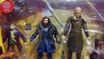 The Hobbit - Bilbo Baggins, Thorin Oakenshield, Legolas & Tauriel Figure /4-Pack/ - TV Toys