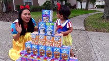 PopTart & Lucky Charms Challenge w/ Snow White Baby, Mcdonalds happy meal, Poison Ivy, Hul