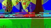 ABC en el Autobús de la Canción | el Alfabeto de Canciones Para Niños | 3D Alfabeto Autobús Canciones Para Niños
