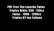 PDF Free The Laverda Twins   Triples Bible: 650   750cc Twins - 1000   1200cc Triples BY Ian Falloon