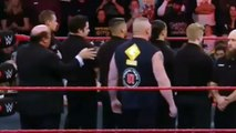 Brock Lesnar vs Goldberg Face to Face - WWE Raw 14 november 2016 - WWE Raw