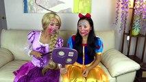 Police Drive Thru Dunkin Donuts w_ Catwoman, Princess Rapunzel, Snow White, Spiderman-Q_M7G1Azbvo