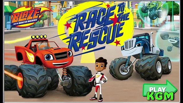 Monster Truck Blaze Race to the Rescue and the Monster Machines Monster Truck Video Games
