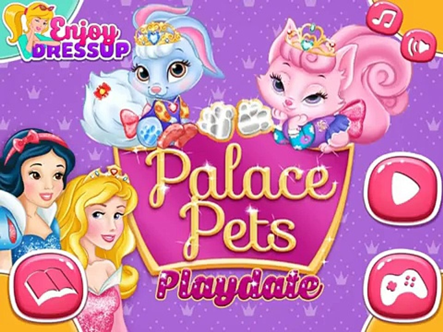 Palace Pets Playdate - Best Baby Games For Kids