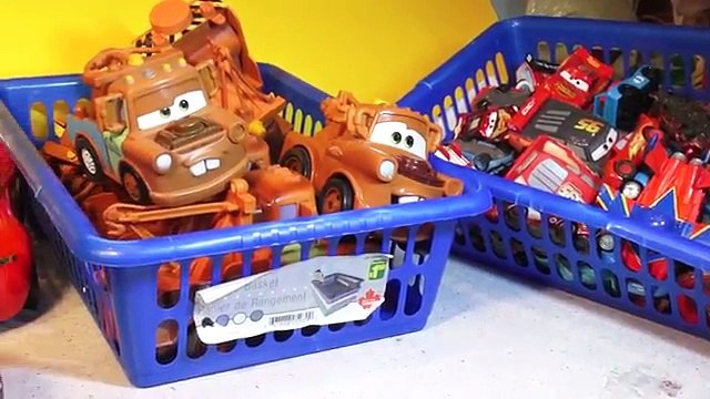 The Disney Cars Mater Pyramid , we made a Pyramid using our Tow Mater Collection from Disn