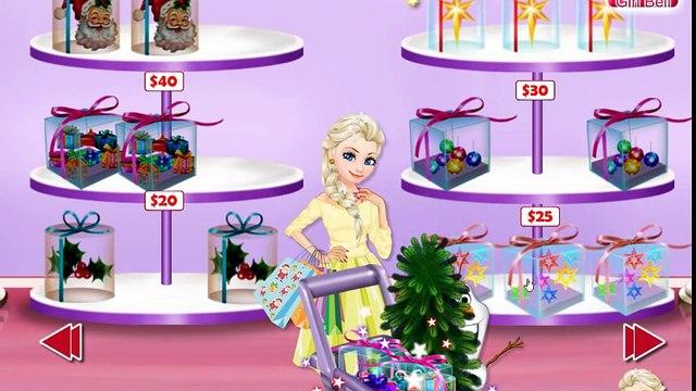 Frozen Princess Elsa Holidays Shopping - Disney Princess Christmas Games For Kids Trailer