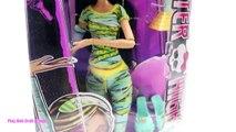 BOX OPENING Monster High Dolls Clawdeen Wolf Frankie Stein Cleo De Nile Draculaura