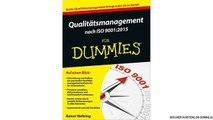 [eBook PDF] Qualitätsmanagement nach ISO 9001:2015 für Dummies