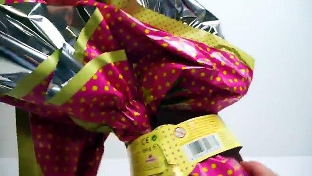 Barbie Giant Shopkins Shopping Cart! Elsa Chocolate Egg Surprise Egg Anna Ice Monster by H