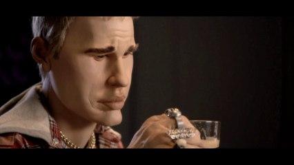 Nespresso ad : Justin Bieber and Kim Kardashian - The Guignols - CANAL+
