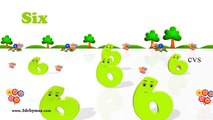 Learn Numbers Song 1 to 100 Counting 3D Animation Numbers Rhymes for Children