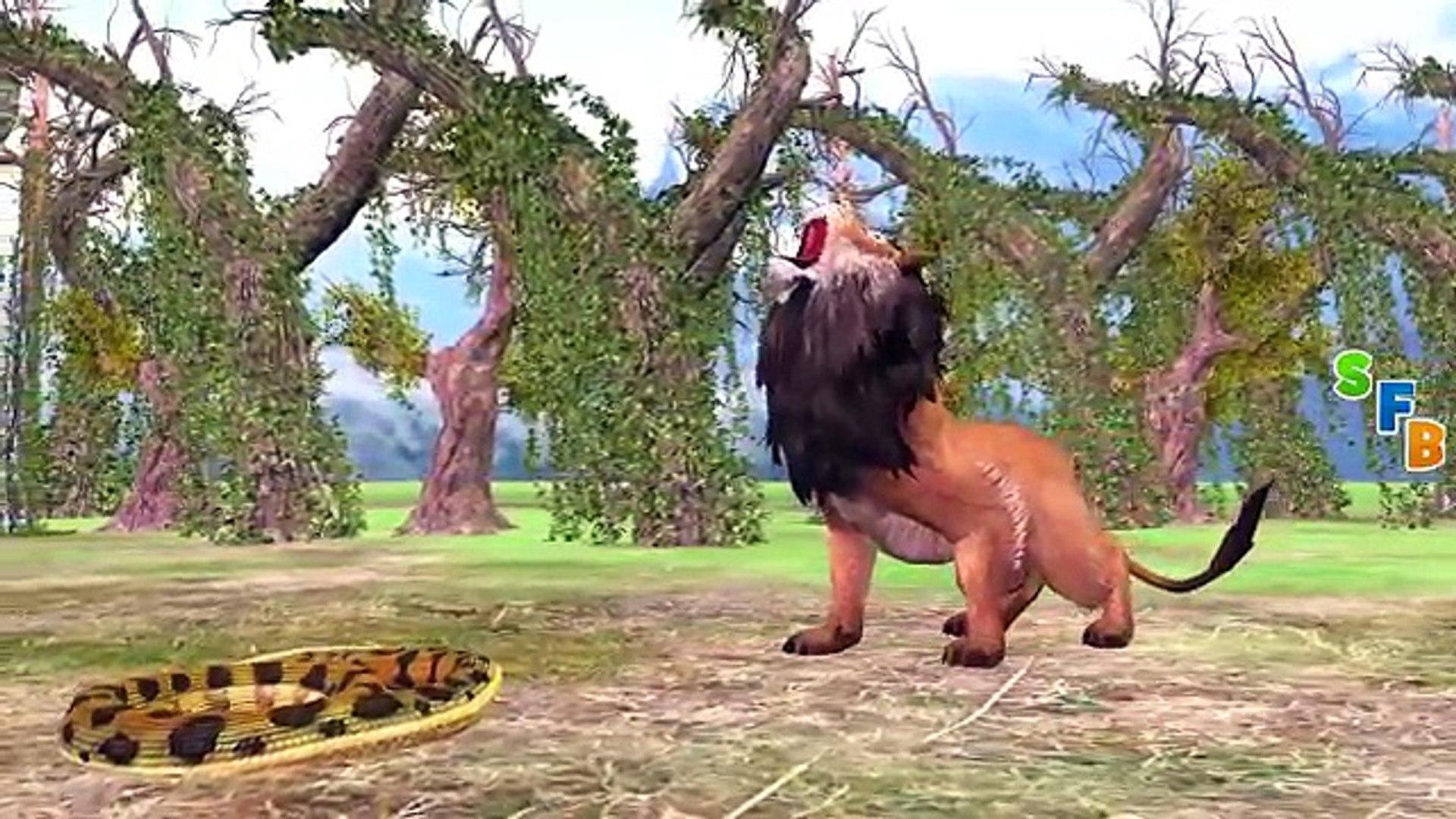 Самые Удивительные Дикие Животные Атаки | Динозавры Против Слона, Тигра, Льва, Гориллу, Сумасшедшая