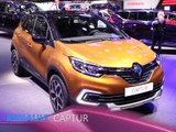 Renault Captur en direct du salon de Genève 2017
