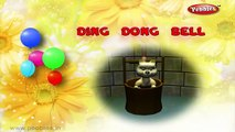 Ding Dong Bell Nursery Rhyme | Ding Dong Bell With Lyrics | Nursery Rhymes With Lyrics Animation