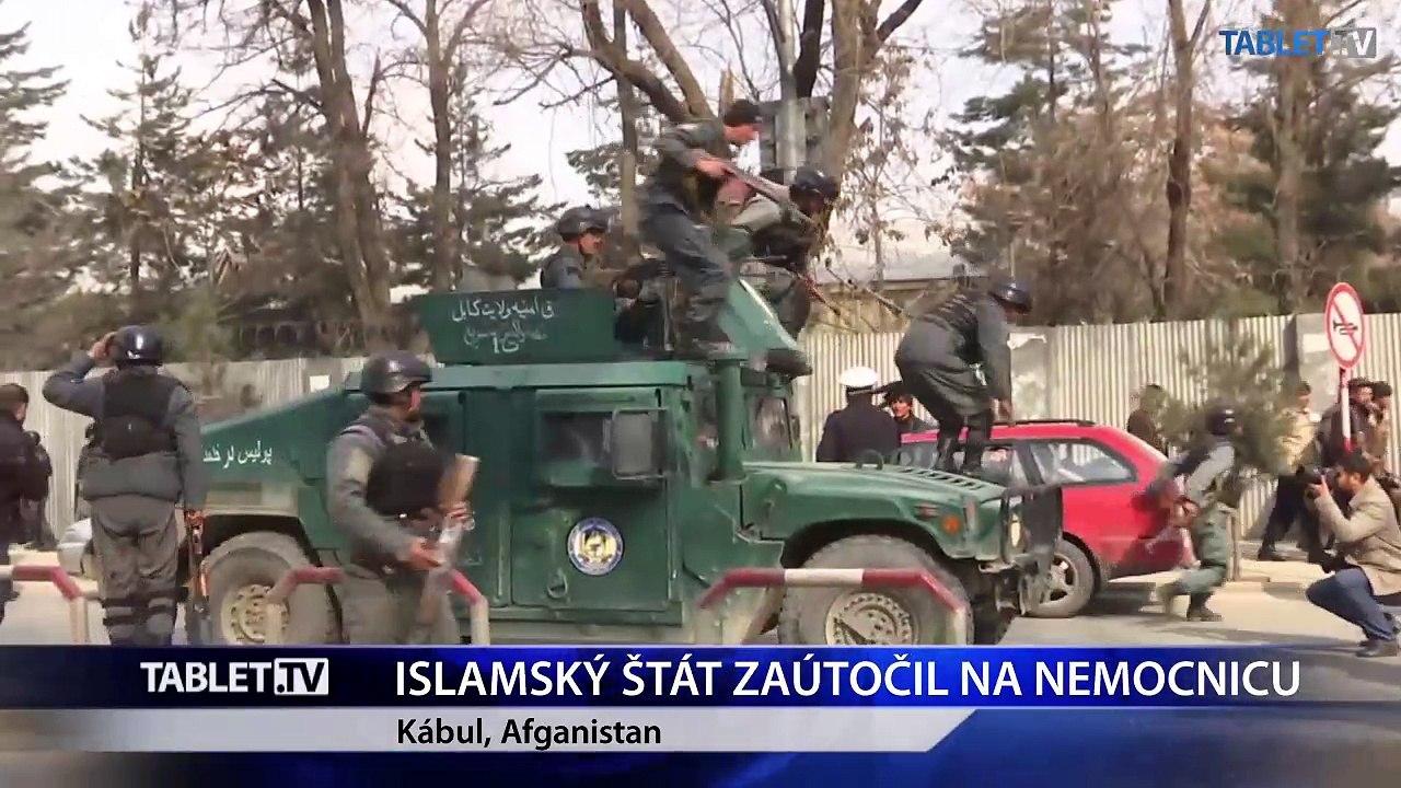 Útok IS na vojenskú nemocnicu v Kábule si vyžiadal 30 mŕtvych