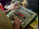 Roland mc-303 partyboy fial totor bab studio moulin gallan