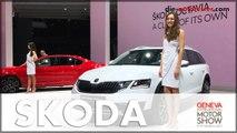 Genf 2017: Premiere für Skoda Octavia und Skoda Kodiaq Modelle   Messe   Auto   Deutsch