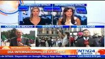 Al menos 60 ciudades de Argentina protestan contra la violencia de género en el Día Internacional de la Mujer