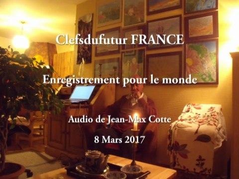 Enregistrement pour le monde - Audio de Jean-Max Cotte - 8/03/2017