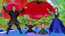 Frozen Fire Elsa Rain Rain Go Away ABC Phonic Rhymes | Ringa Ringa Roses Nursery Rhymes fo