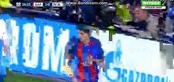 Luis Suarez vs Marquinhos FIGHT!!! - FC Barcelona vs Paris Saint Germain - Champions League - 08/03/2017