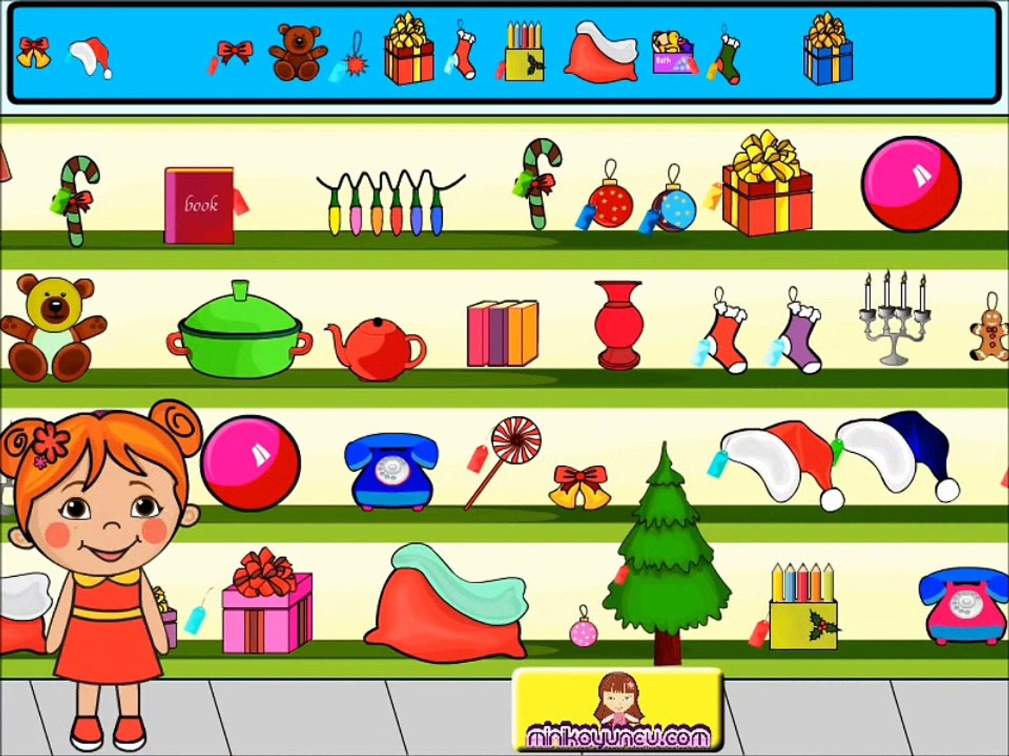 Lili Happy New Year Games-Girl Games-Hair Games