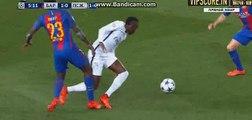 Samuel Umtiti Foot Injury - FC Barcelona vs PSG - Champions League - 08/03/2017