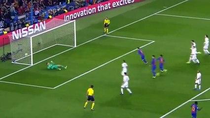 Lionel Messi marque le 3e but- Barcelona vs PSG (3-0)