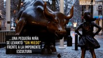 "La ""niña sin miedo"" que se levantó frente al toro de Wall Street"