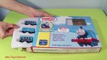 tren de juguete set para niños de Thomas y sus Amigos el tren de video para los niños de hot wheels para