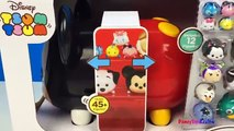 DISNEY TSUM TSUM MICKEY MOUSE STACK N DISPLAY CASE - PERRY MARIE LUCKY GRUMPY FIGARO - UNBOXING