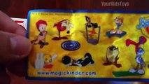 Kinder Maxi BIG Egg Surprise Easter Edition Looney Tunes Show Warner Bros Bugs Bunny Daffy