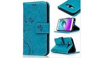 Roreikes Schutzhülle für Samsung Galaxy S3 / S3 Neo, Leder Tasche Brieftasche Schutzhülle Malerei Blume Schmetterling Mu