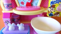 DIY magic oven bake decorate cupcakes muffins Minnie Mouse kitchen accessories cupcake toy