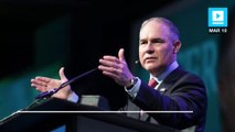 EPA chief doesn't believe carbon dioxide contributes to climate change